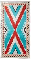 Theodora & Callum Women's Nomad Scarf, Turquoise/Multi