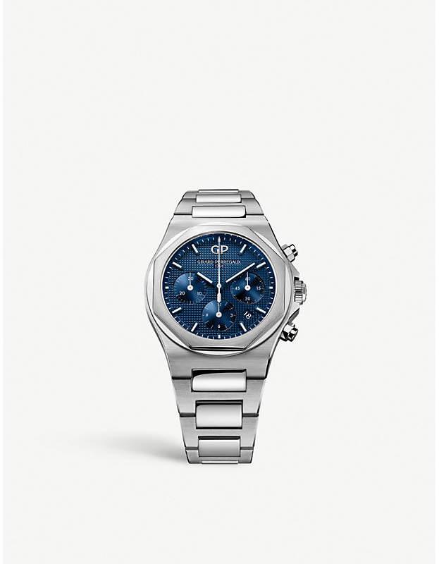 Girard Perregaux Girard-Perregaux 810201143111A Laureato stainless steel chronograph watch