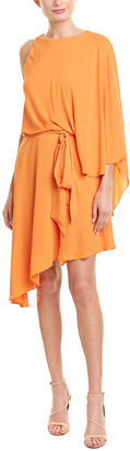 Halston Blouson Dress