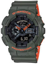 G-Shock G Shock Duo Layered Neon W/Time