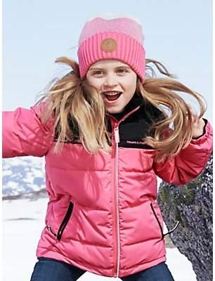 Polarn O. Pyret Children's Waterproof Padded Coat, Fruit Dove