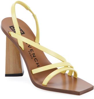 Givenchy Losange 100mm Diamond Strap Sandals