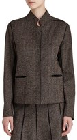 Lafayette 148 New York Women's 'Randall' Herringbone Jacket