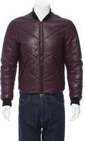 Kenzo Leather Bomber Jacket