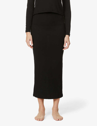 Bleusalt The Tube stretch-knit midi skirt