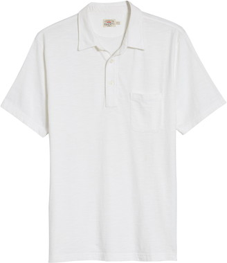 Faherty Sunwashed Organic Cotton Polo
