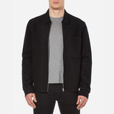 Our Legacy Men's Raw Edge Zip Jacket Black