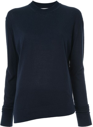 Studio Nicholson Long-Sleeve Fitted Sweater
