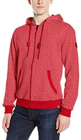 Southpole Men's Marled Hooded Full Zip French Terry In Basic Marled Hoodie