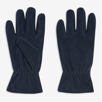 Joe Fresh Men's Fleece Gloves, Charcoal (Size S/M)
