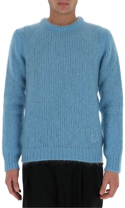 Gucci GG Embroidered Knit Sweater