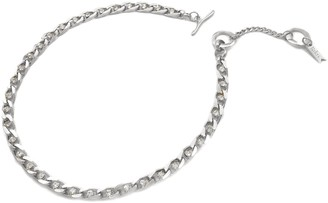 Biko Twin Flame Collar Silver