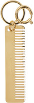 Sophie Hulme Gold Comb Keychain