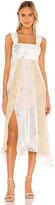 Rebecca Taylor Sleeveless Daffodil Dress