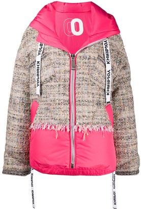 KHRISJOY Panelled Puffer Jacket