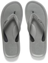 Polo Ralph Lauren Men's Whittlebury Flip Flops Grey/ Black