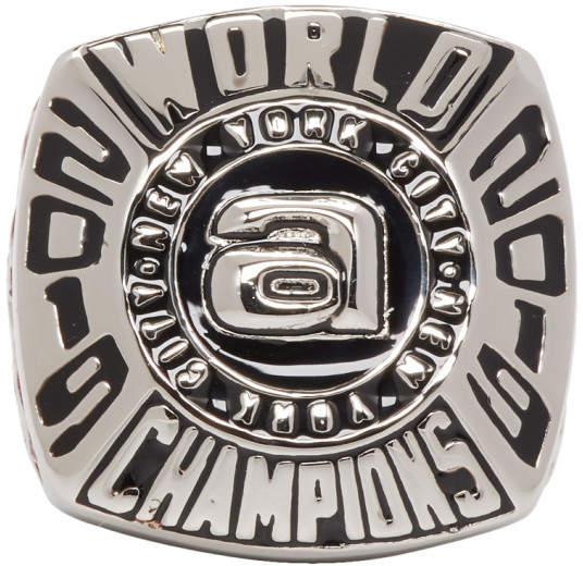 Alexander Wang Silver Champion 3 Ring
