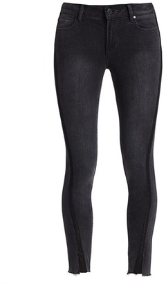 Paige Verdugo Split-Cuff Ankle Skinny Jeans