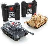 Propel Radio-Controlled Mini Battling Laser Tanks 2-pack