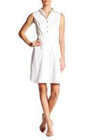 Ellen Tracy Belted Shirt Dress