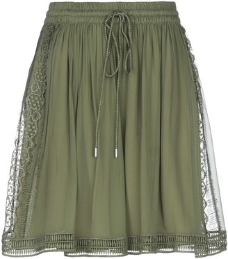 Alberta Ferretti Knee length skirts