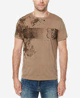Buffalo David Bitton Men's Splatter Logo-Print T-Shirt