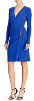 Lauren Ralph Lauren Zip-Detail Jersey Dress