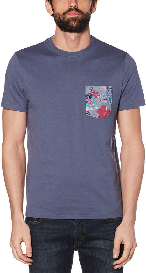 3da9c5e9 Mens Pocket Print Tee - ShopStyle