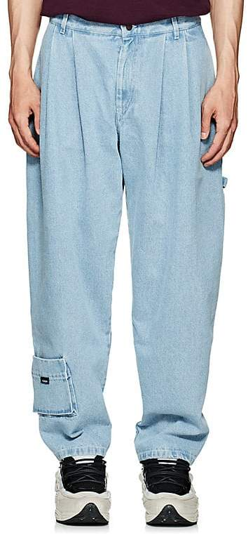 Gosha Rubchinskiy Men's Pleated Carpenter Jeans