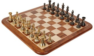 Chess & Bridge Brass Chess Set