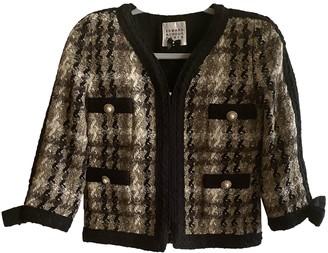 Edward Achour Black Wool Jacket for Women