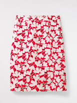 White Stuff Elsie Printed Linen Skirt