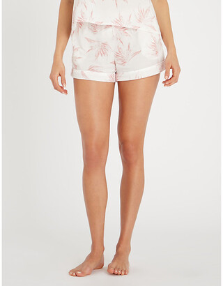 Desmond & Dempsey Deia cotton pyjama shorts