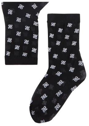 Fendi Logo Socks