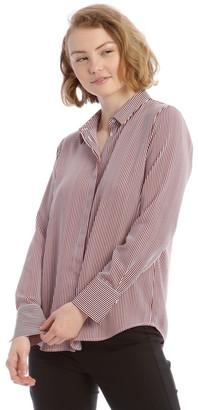 Tokito Burgundy Stripe Work Shirt
