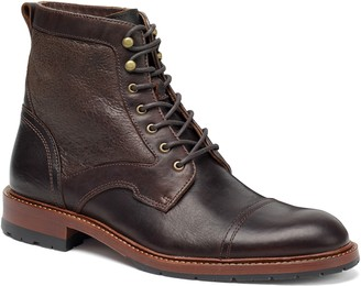 Trask Lawrence Cap Toe Boot