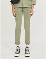 Paige Christy stretch-lyocell trousers
