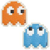 Anya Hindmarch Set Of 2 Pixel Ghosts Leather Stickers