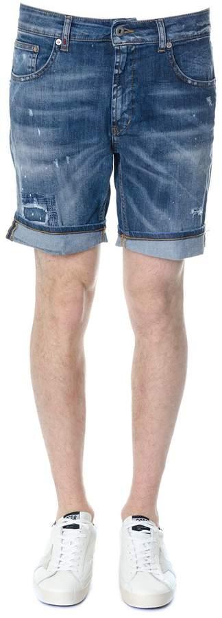 Dondup Derick Cotton Denim Shorts