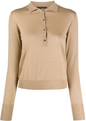 Roberto Collina Knitted Long Sleeve Top