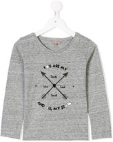 Emile et Ida arrow print longsleeved T-shirt