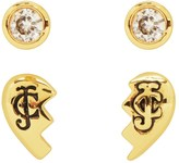 Juicy Couture Broken Hearts Stud Earring Set