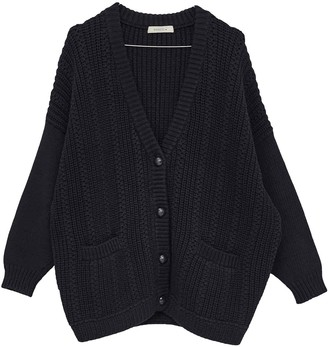 Sessun Blue Cotton Knitwear for Women
