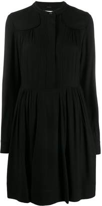 Calvin Klein pleated shirt-dress