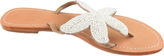 Aspiga Women's Starfish Beaded Sandal