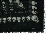 Alexander McQueen Voodoo Skull Shawl