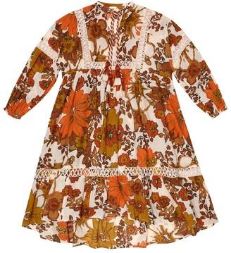 Dodo Bar Or Kids Floral cotton dress