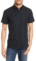 Billy Reid Men's Tuscumbia Jacquard Sport Shirt