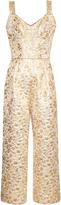 Dolce & Gabbana Floral-brocade wide-leg jumpsuit
