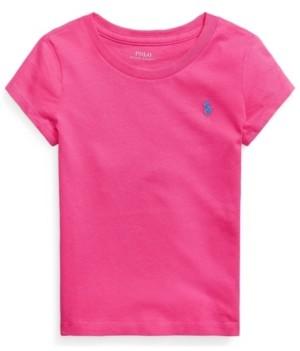Polo Ralph Lauren Little Girls Jersey Tee
